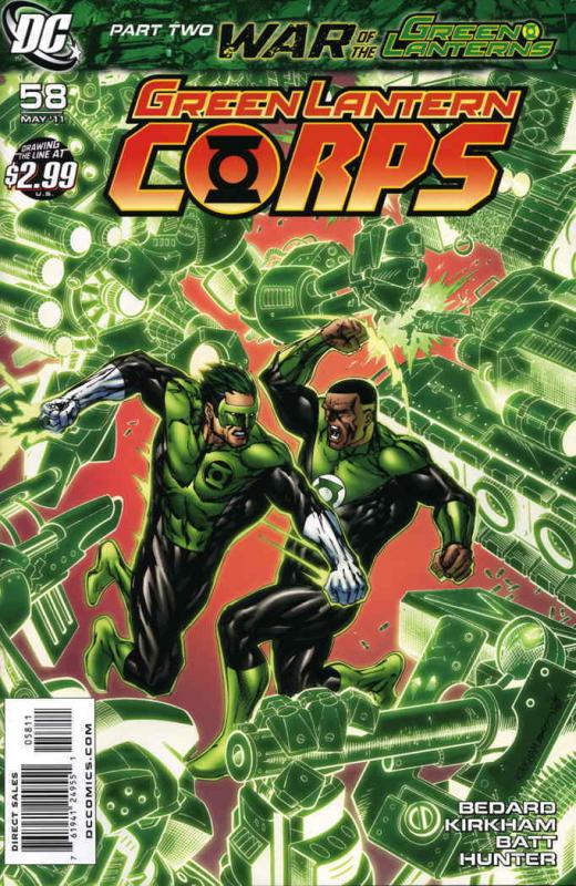 Green Lantern Corps (2nd Series) #58 VF/NM; DC | save on shipping - details insi
