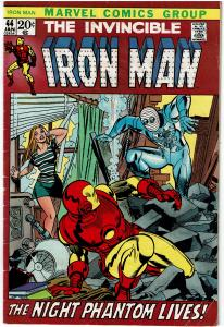 Iron Man #44, 3.5 or Better - Capt. America / Ant Man App.