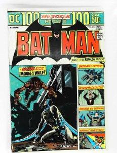 Batman (1940 series) #255, VG+ (Actual scan)