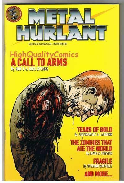 METAL HURLANT #12, NM+, Zombies that ate the World, Guy Davis, more in store