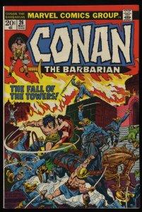 Conan The Barbarian #26 VF/NM 9.0 Marvel Comics