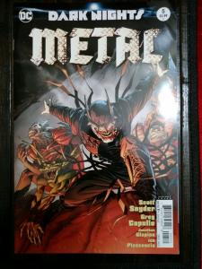 Dark Nights Metal #5 DC Comic 2017 Series Andy Kubert Variant low grade