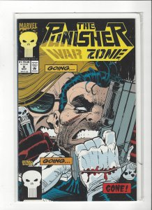 The Punisher War Zone #9 (1992) John Romita Jr. Marvel Comics NM