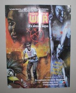 Fleetway/Quality Promo Poster / Third World War / 1990
