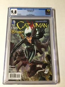 Catwoman 18 Cgc 9.8 New 52 Requiem