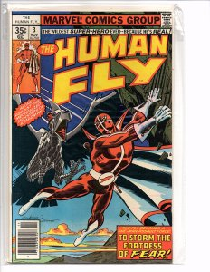 Marvel Comics The Human Fly #3 Dave Cockrum Bill Mantlo Joe Sinnott Lee Elias