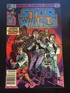 STAR WARS #70, FN+, Luke Skywalker, Darth Vader, 1977, more SW in store