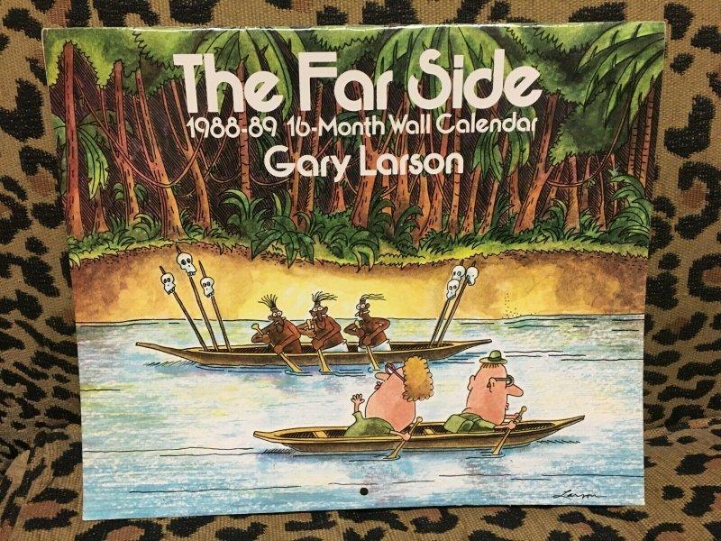 The Far Side 1988-89 16 Month Calendar Gary Larson VF+ Never Used