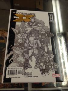 Ultimate X-men 61 NM Retailer incentive Sketch Variant