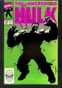 Incredible Hulk (1968) #377 VF/NM 9.0 1st Professor Hulk! Marvel Comics