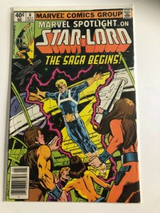 MARVEL SPOTLIGHT ON STAR LORD #6 1980 MARVEL /  NEWSSTAND / MED++