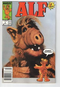 ALF #1 VF+(1988)NEWSSTAND!! 1st Print. AND Scarcer ALF Annual #1 NM 9.4