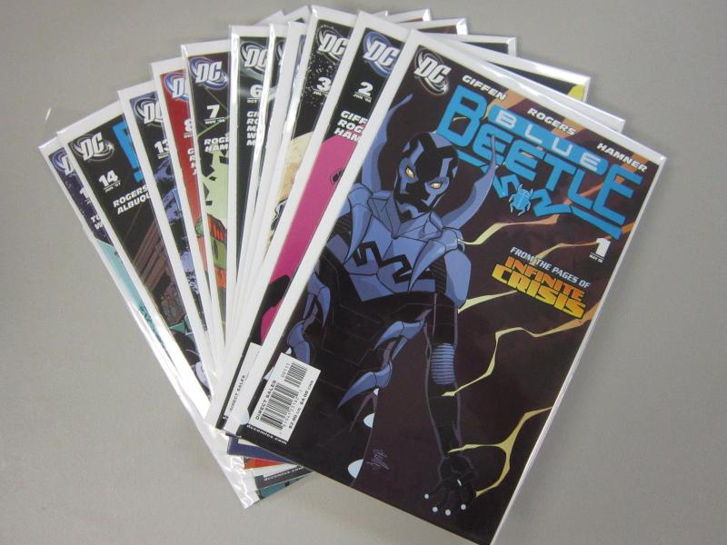 Blue Beetle (2006 DC 2nd Series), SET:# 11 DIFFERENT, 8.0/VF