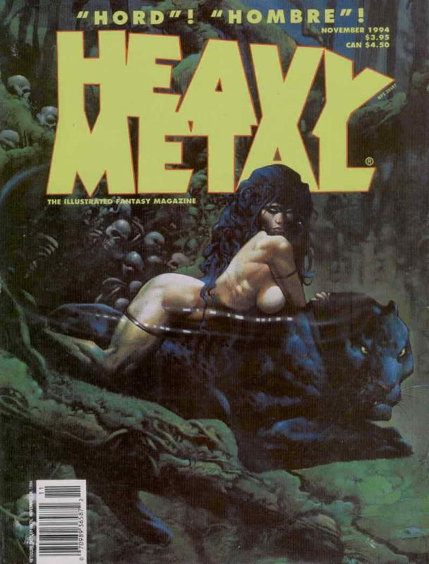Heavy Metal #155 VF; Metal Mammoth | save on shipping - details inside