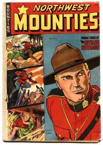 Northwest Mounties #4 1949-St John-Approved Comics-Matt Baker Good Girl art