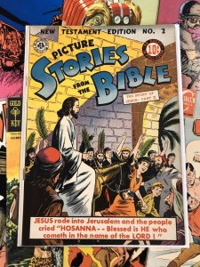 Picture Stories from the Bible #2 F/VF 7.0 comics ALL-AMERICAN jesus christ