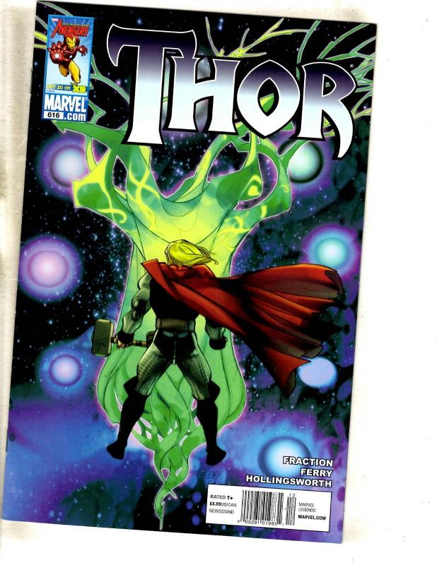 10 Thor Comics 614 615 616 617 619 621 Journey Into Mystery 622 625 630 631 MF20