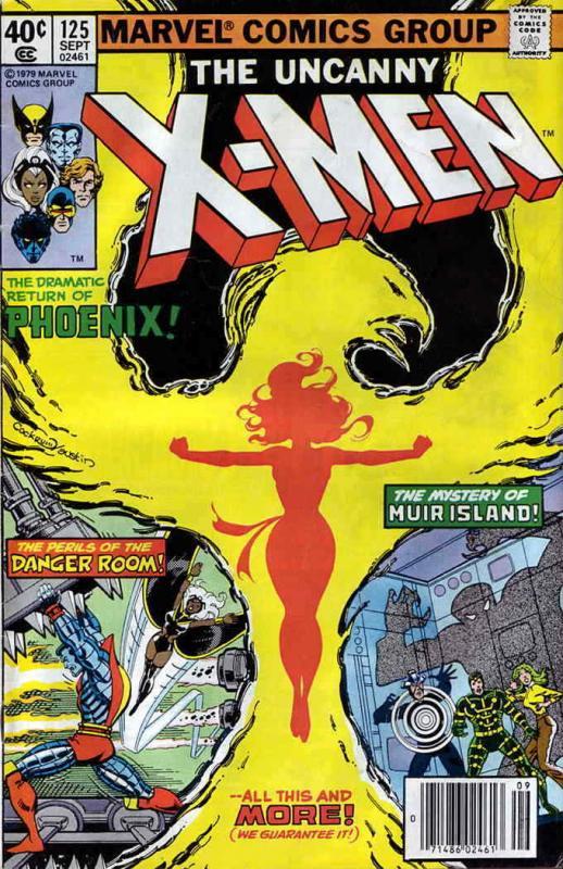 X-Men (1st series) #125 FN; Marvel | save on shipping - details inside