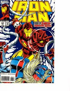 Lot Of 2 Marvel Comic Book Iron Man #297 and Invaders #15  KS11