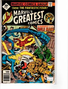 Marvel's Greatest Comics (1969) 71  Fine (6.0)