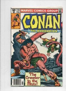 CONAN the BARBARIAN #116 117 118 FN  to VF Buscema Chan Howard 1970 1980 Adams