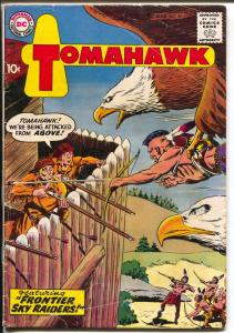 Tomahawk #55 1958-DC-1st new logo issue-fantasy cover-VG-