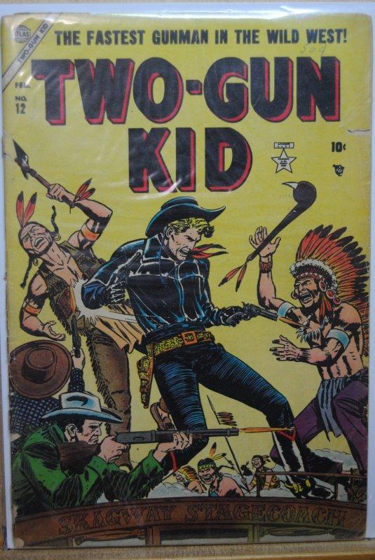 Two-Gun Kid #12 (1954) Golden Age !!!