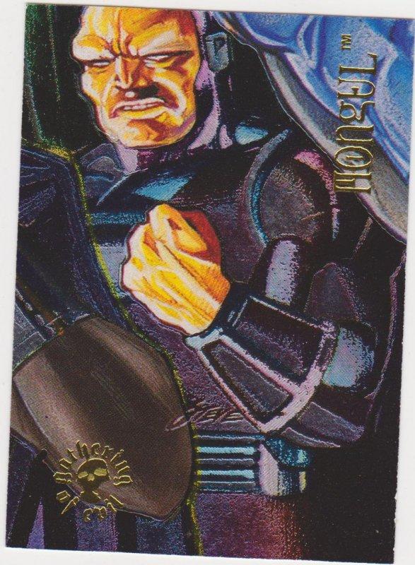 1995 DC Villains Gathering of Evil #GE-7 Mongel Card