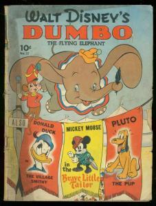 WALT DISNEY'S DUMBO #17 1941-FOUR COLOR COMICS-SERIES I G+