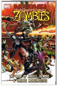 MARVEL ZOMBIES : Book of ANGELS, DEMON & more, NM, 2007, more MZ in store