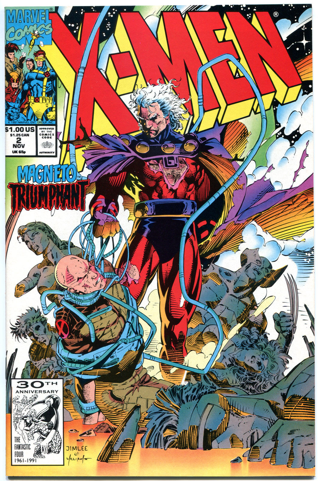 X-MEN # 99 NM MARVEL 1991