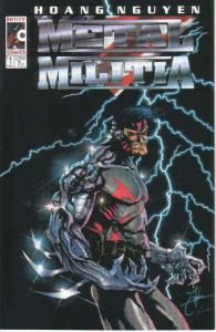 Metal Militia #1 VF/NM; Entity | save on shipping - details inside