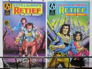 RETIEF DIPLOMATIC IMMUNITY (1990 AD) 1-2