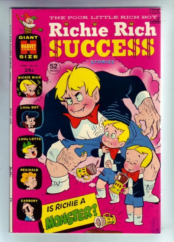 Richie Rich Success #43 (Apr-72) VF/NM High-Grade Richie Rich