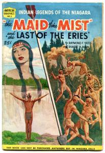 Maid of the Mist #1 1954- Niagara - Indian Tales comic VG