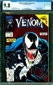 Venom: Lethal Protector #1 CGC Graded 9.8 1st Venom in his own title. Spider-...
