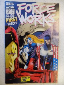 FORCE WORKS # 1 FOLD OUT COVER