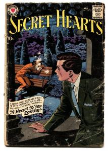 SECRET HEARTS #54 comic book 1959-DC ROMANCE