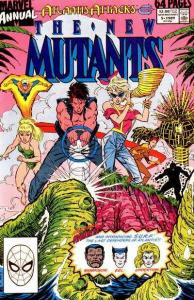 New Mutants (1983 series) Annual #5, VF+ (Stock photo)