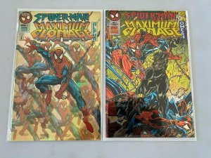 Spider-Man Maximum Clonage Alpha + Omega set NM (1995)