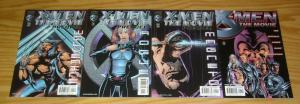 X-Men: the Movie #1 VF/NM one-shot + (3) prequels - wolverine - magneto - rogue