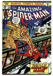 AMAZING SPIDER-MAN #133 comic book-MARVEL COMICS-MOLTEN MAN