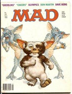 Mad Magazine #249 1984- Gremlins- CHEERS Olympics- VG-