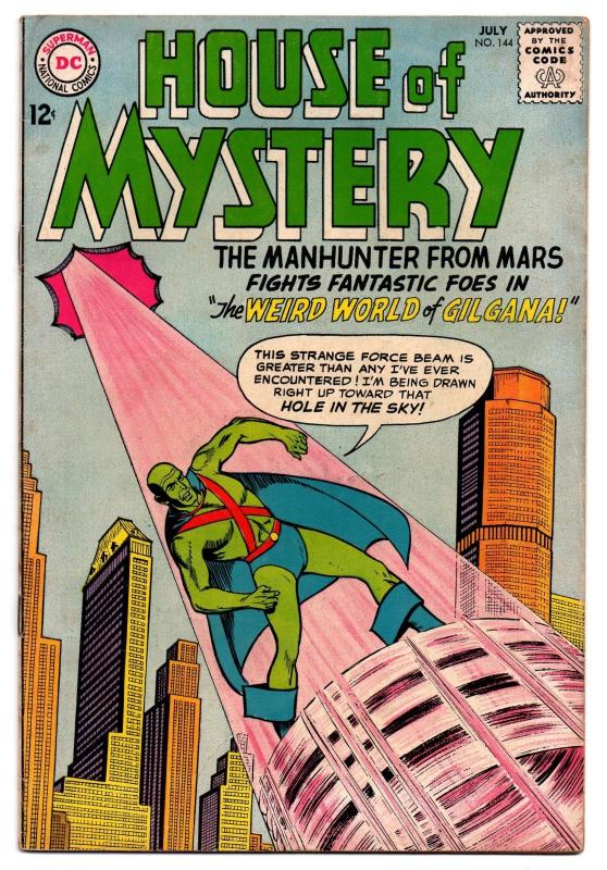 House of Mystery #144 (Jul 1964, DC) - Very Good/Very Good+