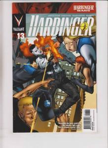 Harbinger #13 VF/NM variant cover - harbinger wars - valiant comics 1:20