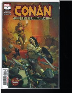 Conan the Barbarian #1 (Marvel, 2019) NM