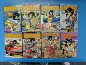 Japanese Manga Gun Smith Cats Vol 1-6 8