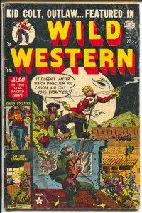 Wild Western #27 1953-Atlas-Kid Colt-George Tuska-G+