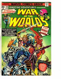 Lot Of 4 Amazing Adventures Marvel Comic Books # 28 33 34 35 Killraven  J251