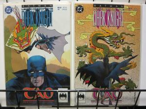 BATMAN LEGENDS OF THE DARK KNIGHT 52-53 Tao pt 1-2